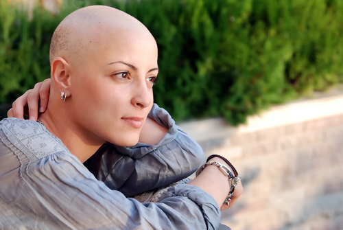 The patient who undergoes cancer treatment