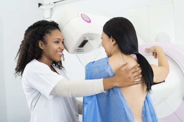 Mammogram for breast cancer at The Cancer Centre Singapore